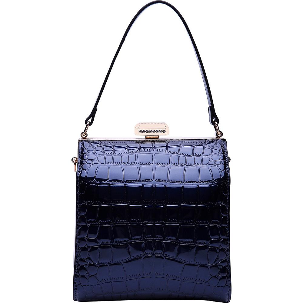 MKF Collection by Mia K. Farrow Fany Evening Crossbody Blue - MKF Collection by Mia K. Farrow Manmade Handbags - Handbags, Manmade Handbags