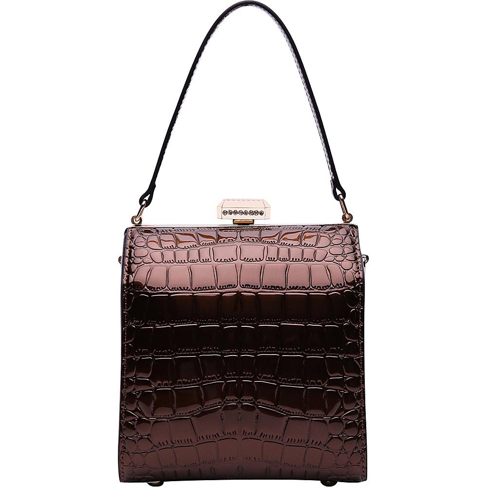 MKF Collection by Mia K. Farrow Fany Evening Crossbody Brown - MKF Collection by Mia K. Farrow Manmade Handbags - Handbags, Manmade Handbags