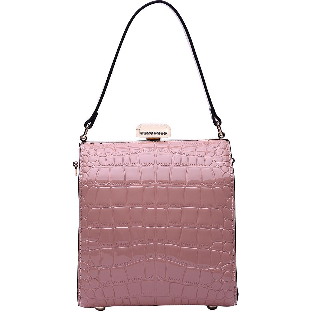 MKF Collection by Mia K. Farrow Fany Evening Crossbody Pink - MKF Collection by Mia K. Farrow Manmade Handbags - Handbags, Manmade Handbags