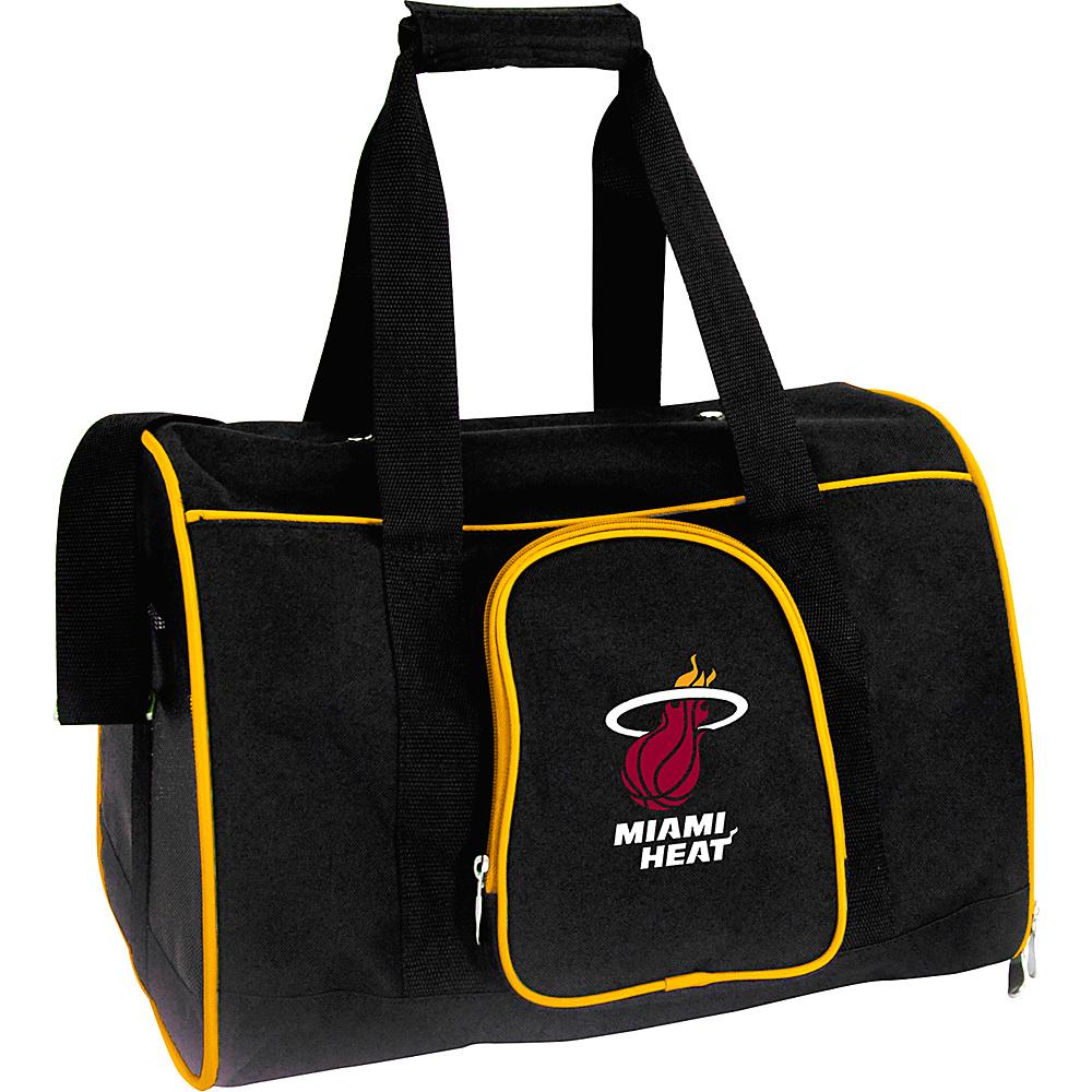 Mojo Licensing NBA Pet Carrier 16  Premium Bag Miami Heat - Mojo Licensing Pet Bags NBA Pet Carrier 16  Premium Bag Miami Heat. NBA Pet Carrier Premium 16in bag