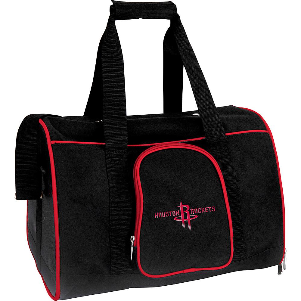 Mojo Licensing NBA Pet Carrier 16  Premium Bag Houston Rockets - Mojo Licensing Pet Bags NBA Pet Carrier 16  Premium Bag Houston Rockets. NBA Pet Carrier Premium 16in bag