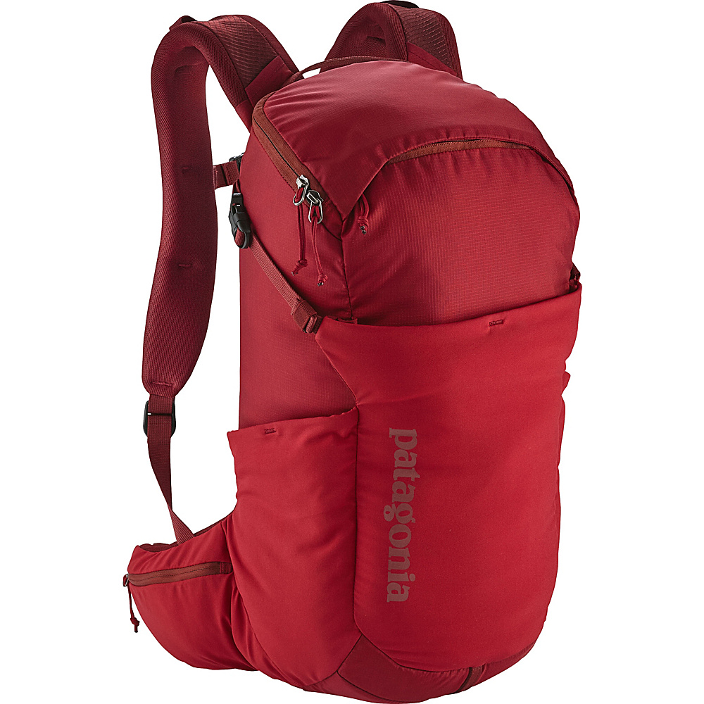 Patagonia Nine Trails Pack 20L Hiking Pack - L/XL Classic Red - Patagonia Day Hiking Backpacks - Outdoor, Day Hiking Backpacks
