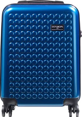 Dot Drops Chapter 2 20 inch Hardside Carry-On Spinner Luggage Ice Blue - Dot Drops Hardside Carry-On