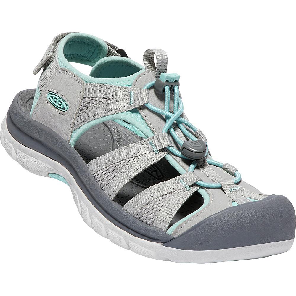 KEEN Womens Venice II H2 Sandals 10 - Paloma/Pastel Turquoise - KEEN Womens Footwear - Apparel & Footwear, Women's Footwear