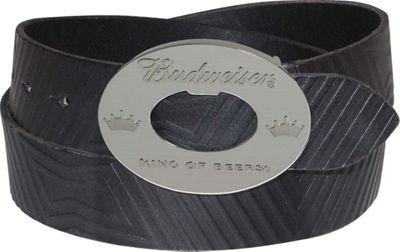 Budweiser Bowtie Belt 36 - Black - Budweiser Belts