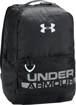 Under Armour Boys Armour Select Backpack Black/Black/White - Under Armour Laptop Backpacks