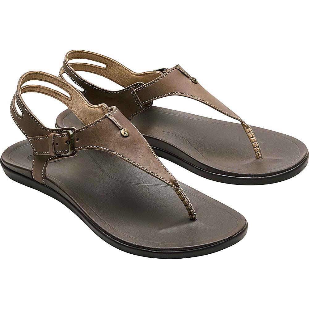 OluKai Womens Eheu Sandal 9 - Clay/Dark Java - OluKai Womens Footwear - Apparel & Footwear, Women's Footwear