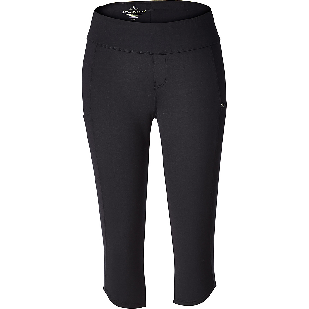 Royal Robbins Womens Jammer Knit Knicker XS - Jet Black - Royal Robbins Womens Apparel - Apparel & Footwear, Women's Apparel