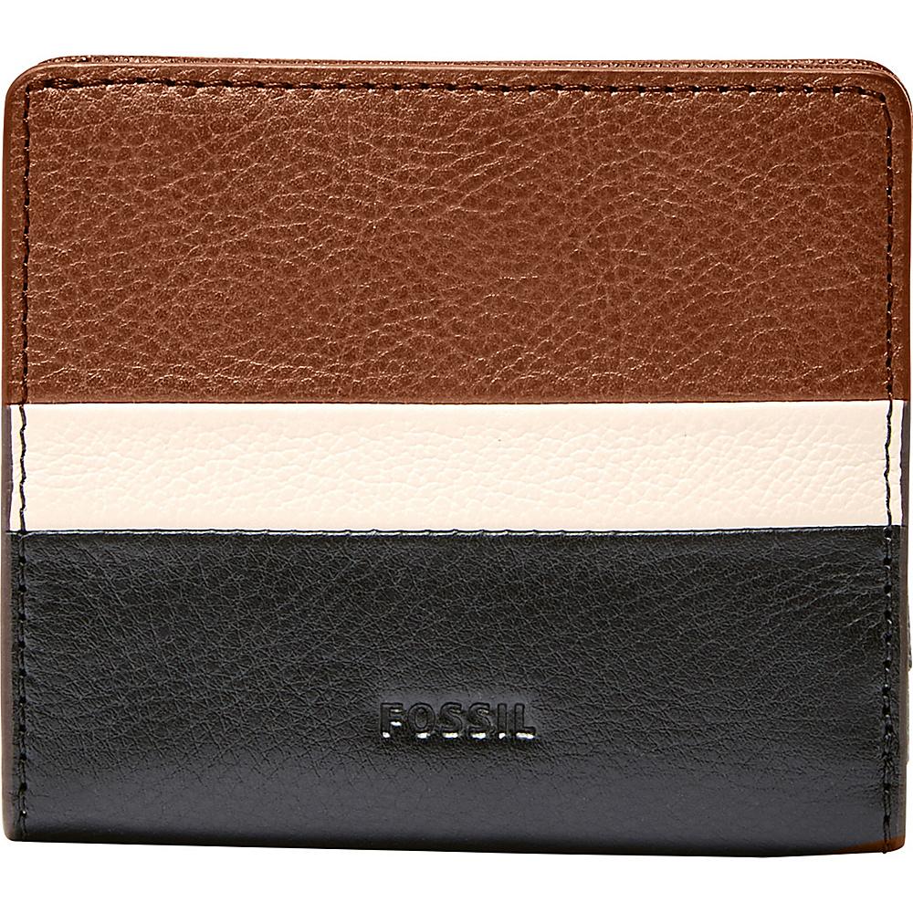 Fossil Emma RFID Mini Wallet Neutral Multi - Fossil Womens Wallets - Women's SLG, Women's Wallets