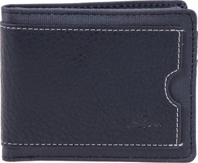 Roots 73 Slimfold Wallet with Removable ID Black - Roots 73 Men's Wallets