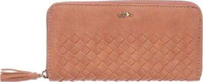 Roots 73 Roots 73 Zippered Round Clutch Desert Peach - Roots 73 Women's Wallets