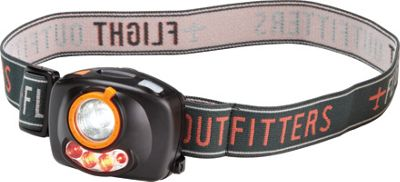 Flight Outfitters Headlamp Black/Orange - Flight Outfitters Outdoor Accessories
