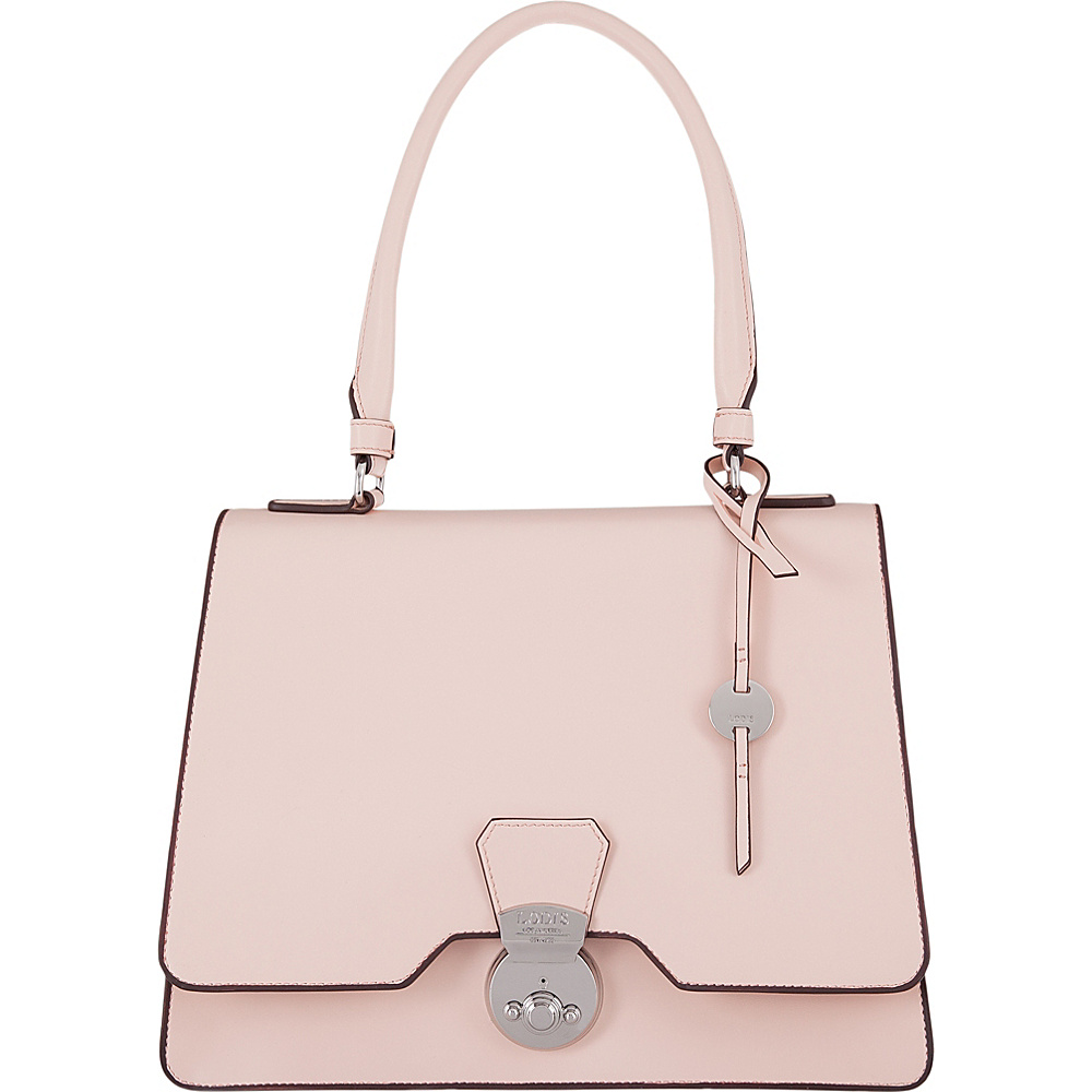 Lodis Rodeo RFID Justina Flap Satchel Blush - Lodis Leather Handbags - Handbags, Leather Handbags