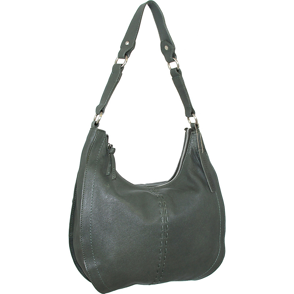 Nino Bossi Lynette Hobo Moss - Nino Bossi Leather Handbags - Handbags, Leather Handbags