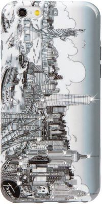 Charles Fazzino Illusions of New York iPhone 6/6S Case Multi Color - Charles Fazzino Electronic Cases