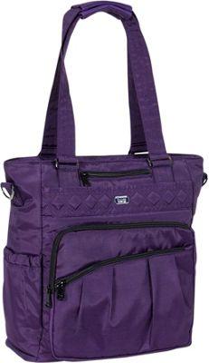 Lug RFID Ace Tote Brushed Concord - Lug Fabric Handbags