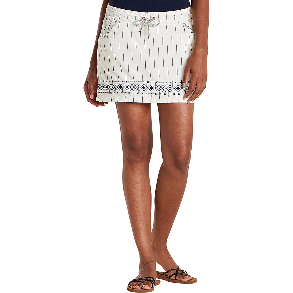 Toad & Co Womens Fresco Skort XS - Salt - Toad & Co Womens Apparel - Apparel & Footwear, Women's Apparel