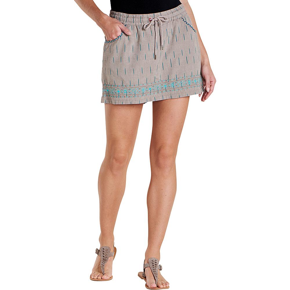 Toad & Co Womens Fresco Skort XL - Falcon Brown - Toad & Co Womens Apparel - Apparel & Footwear, Women's Apparel