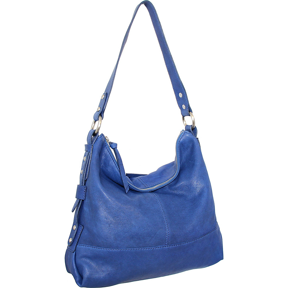 Nino Bossi Emmy Shoulder Bag Cobalt - Nino Bossi Leather Handbags - Handbags, Leather Handbags