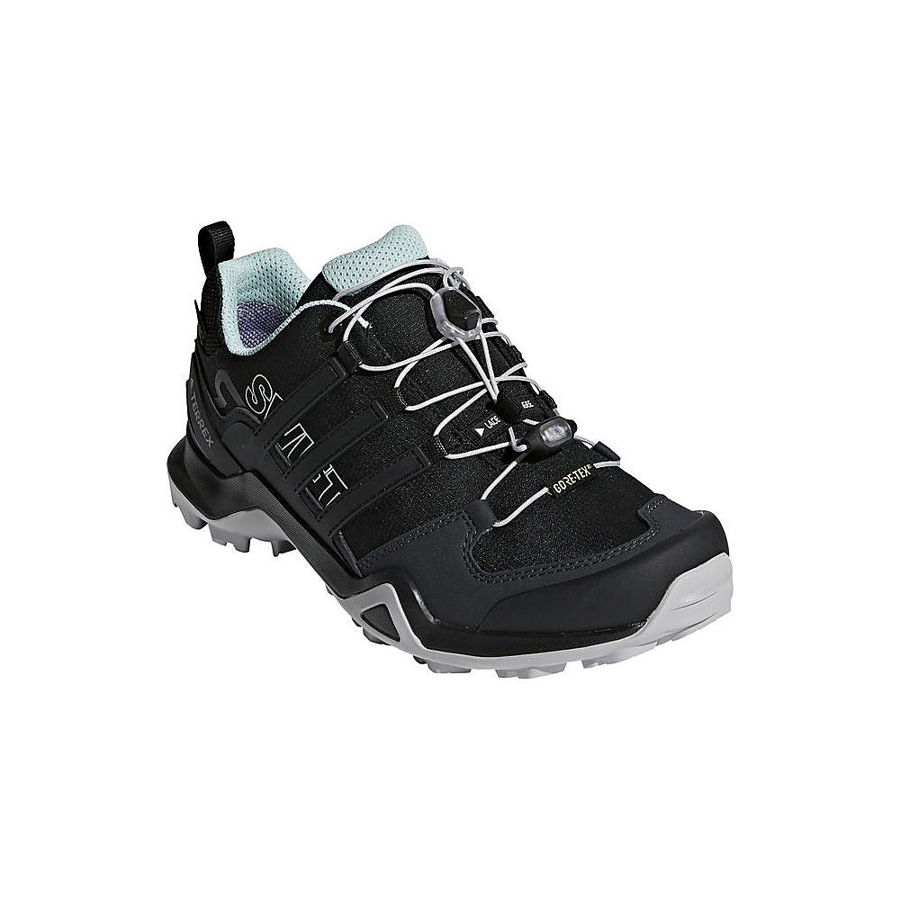 adidas outdoor Womens Terrex Swift R2 GTX Shoe 5 - Black/Black/Ash Green - adidas outdoor Womens Footwear - Apparel & Footwear, Women's Footwear