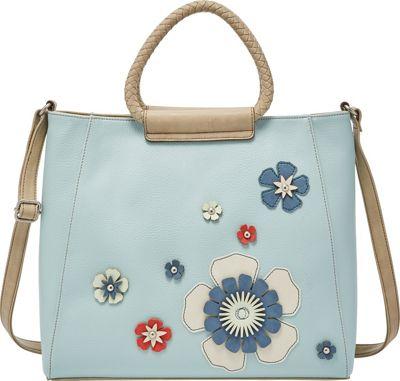 Relic Fiona Satchel Flower - Relic Manmade Handbags
