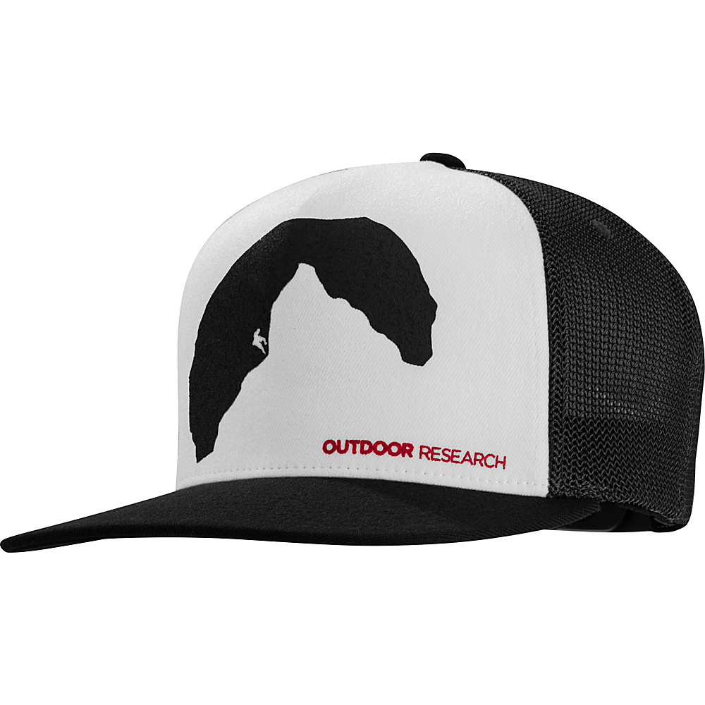 Outdoor Research Negative Space Trucker Cap One Size - Black - Outdoor Research Hats/Gloves/Scarves - Fashion Accessories, Hats/Gloves/Scarves