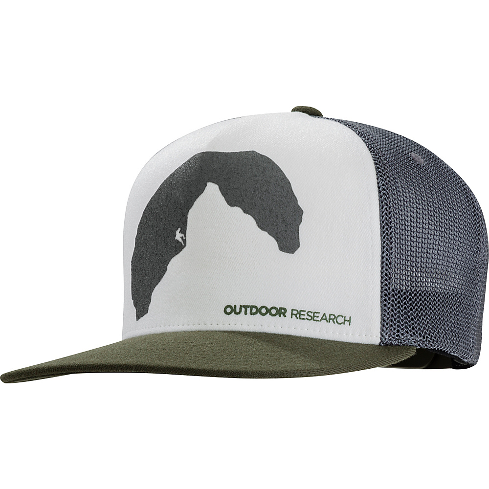 Outdoor Research Negative Space Trucker Cap One Size - Fatigue - Outdoor Research Hats/Gloves/Scarves - Fashion Accessories, Hats/Gloves/Scarves