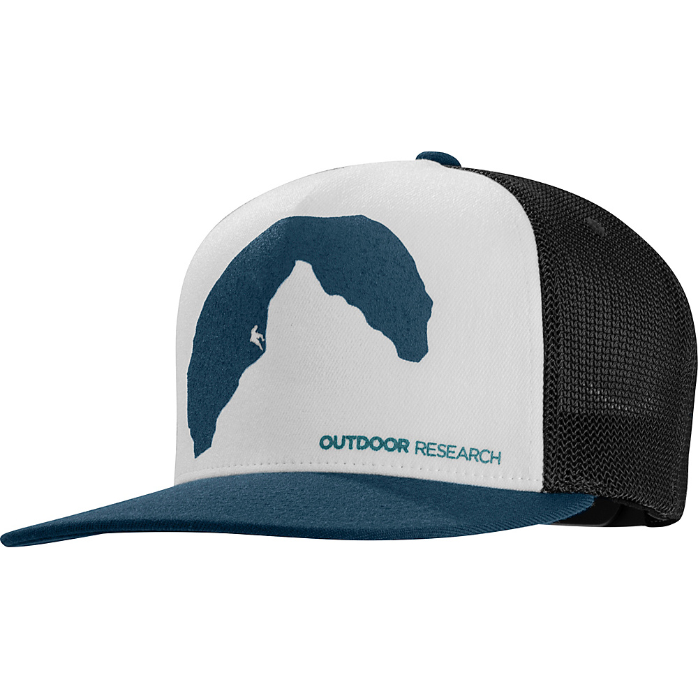 Outdoor Research Negative Space Trucker Cap One Size - Vintage - Outdoor Research Hats/Gloves/Scarves - Fashion Accessories, Hats/Gloves/Scarves