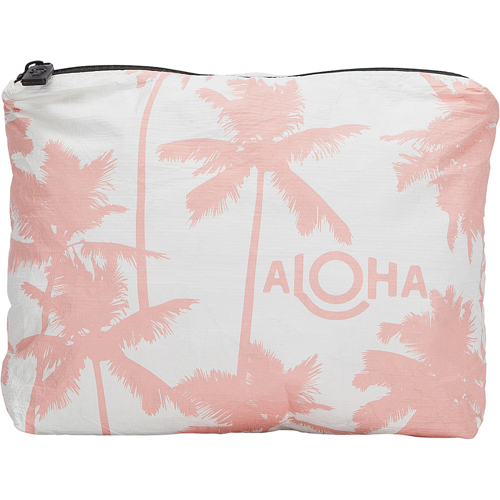 Image of ALOHA Collection Small Wet/Dry Pouch- Coco Palms Coco Palms Guava - ALOHA Collection Packable Bags