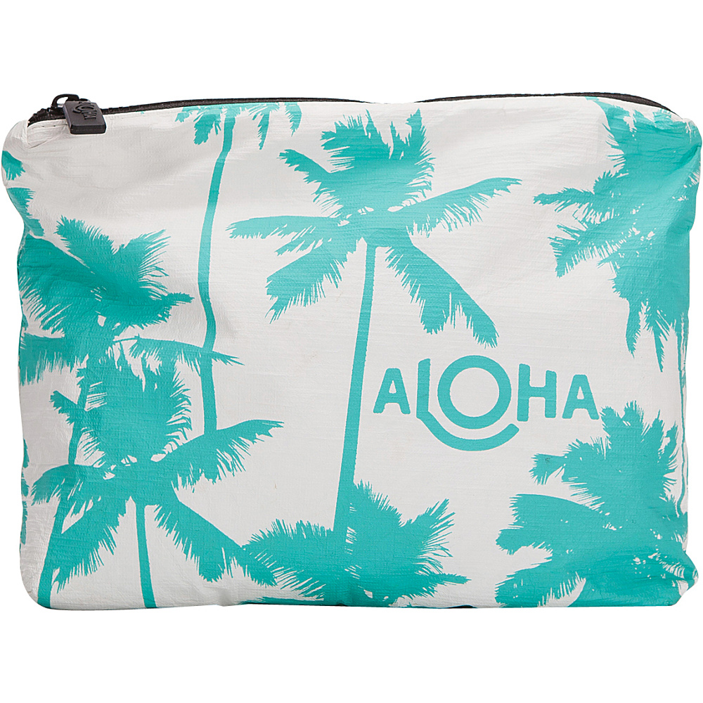 Image of ALOHA Collection Small Wet/Dry Pouch- Coco Palms Coco Palms Ocean - ALOHA Collection Packable Bags