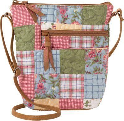 Donna Sharp Penny Patchwork Crossbody Bag, Women's, Sunny Patch