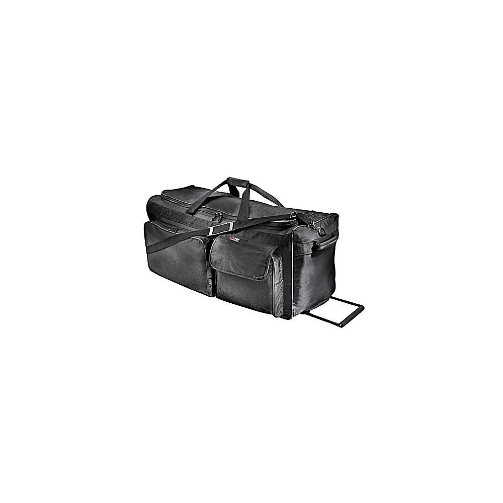 Netpack 35 Ballistic Wheeled Duffel - Black - Luggage, Rolling Duffels