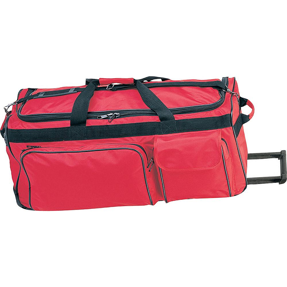 Netpack 35 Ballistic Wheeled Duffel - Red - Luggage, Rolling Duffels