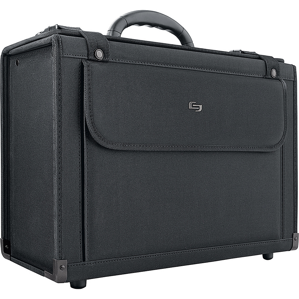 SOLO Ballistic-Look Large Capacity Catalog Case - Black - Work Bags & Briefcases, Non-Wheeled Business Cases
