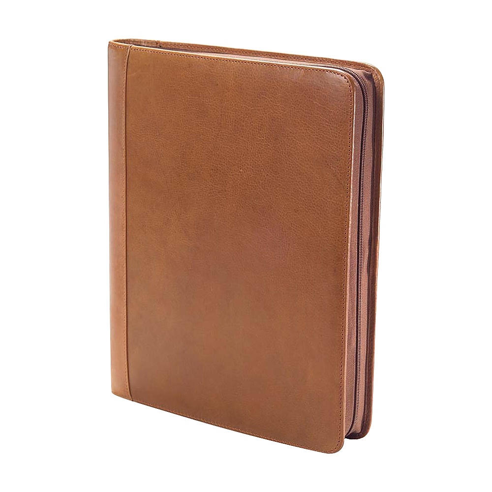 Clava Tuscan Leather Extreme File Padfolio - Tuscan Tan - Work Bags & Briefcases, Business Accessories