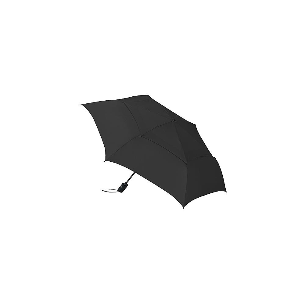 ShedRain WindPro Flat Vented Auto Open & Close Umbrella - Solid Colors Black - ShedRain Umbrellas and Rain Gear - Travel Accessories, Umbrellas and Rain Gear