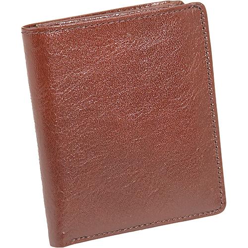 Derek Alexander Small Show Card Wallet w/ID Flap