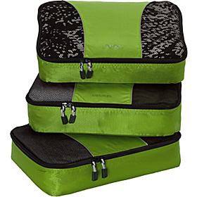Medium Packing Cubes - 3pc Set Grasshopper