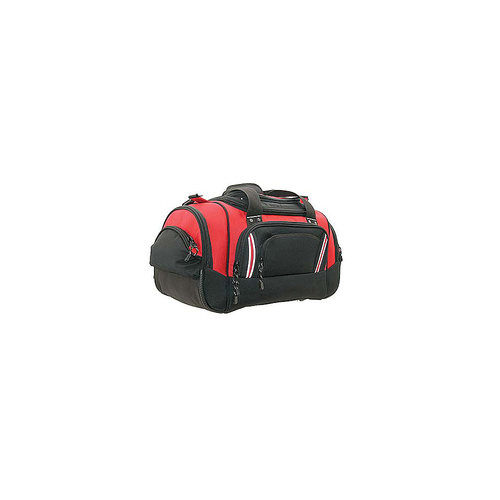 Netpack Deluxe 23 Travel Duffel - Red/Black - Duffels, Travel Duffels