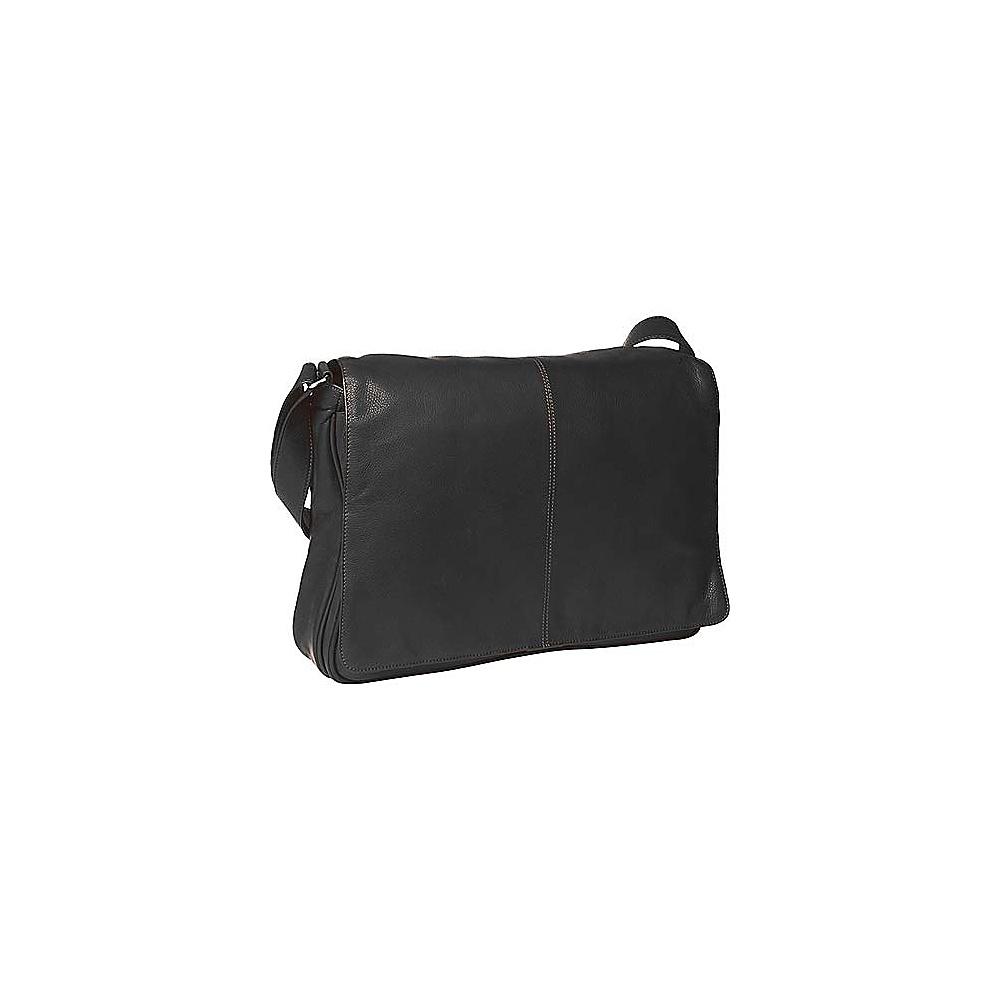 Osgoode Marley Cashmere Messenger Bag Black - Osgoode Marley Messenger Bags - Work Bags & Briefcases, Messenger Bags