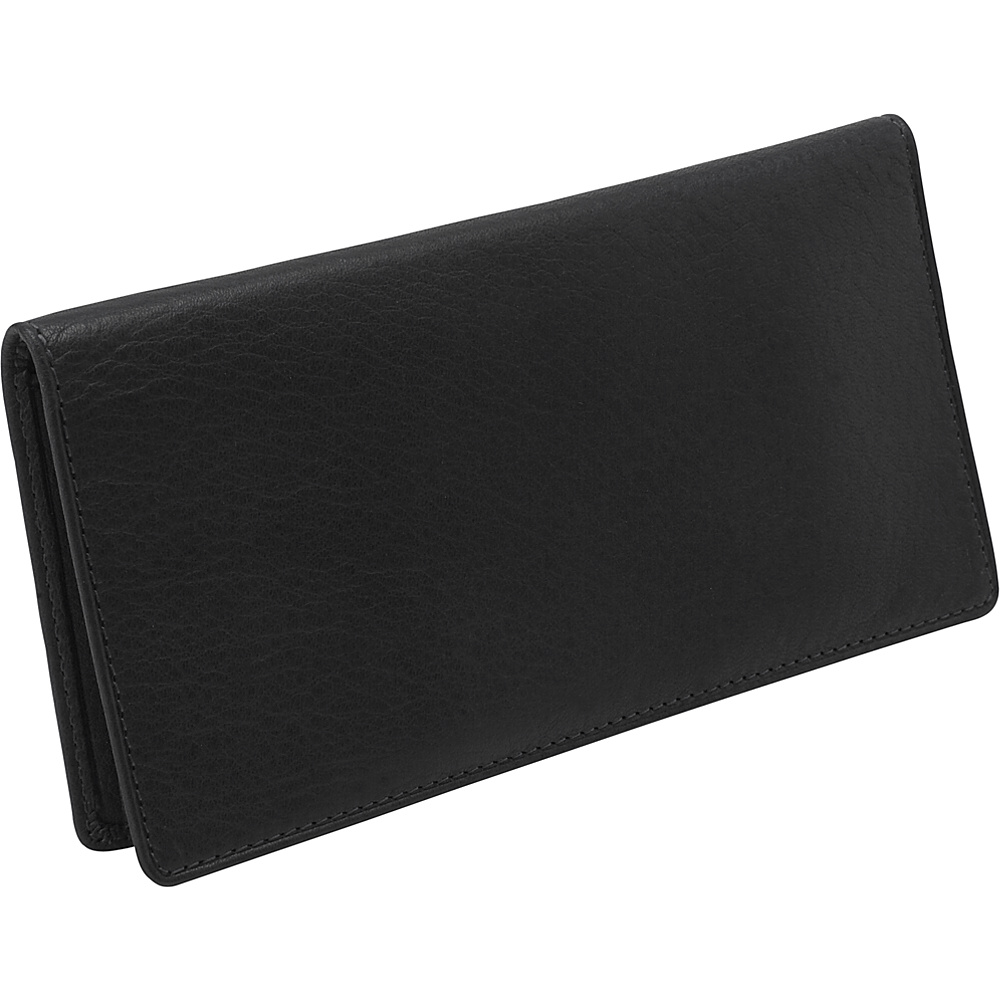 Osgoode Marley Cashmere Checkbook Cover - Black - Women's SLG, Women's Wallets