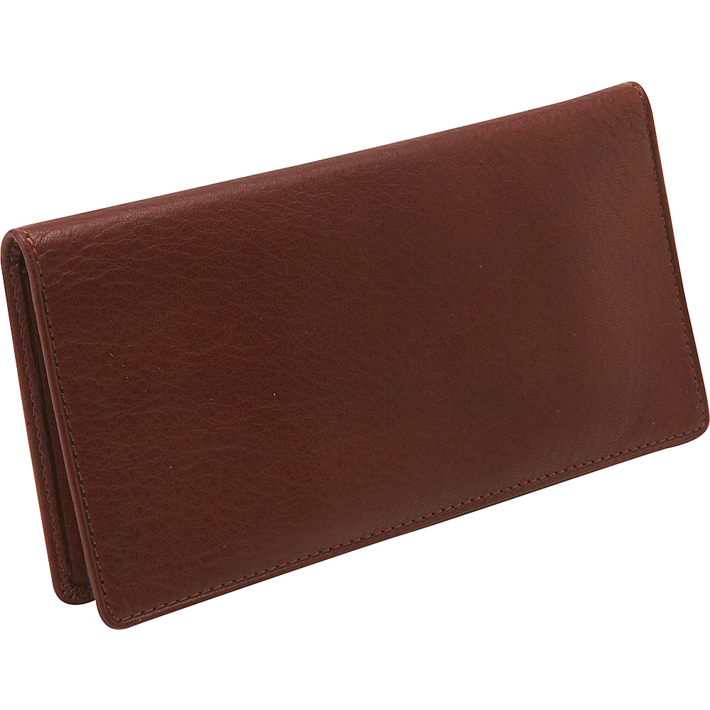 Osgoode Marley Cashmere Checkbook Cover - Brandy - Women's SLG, Women's Wallets