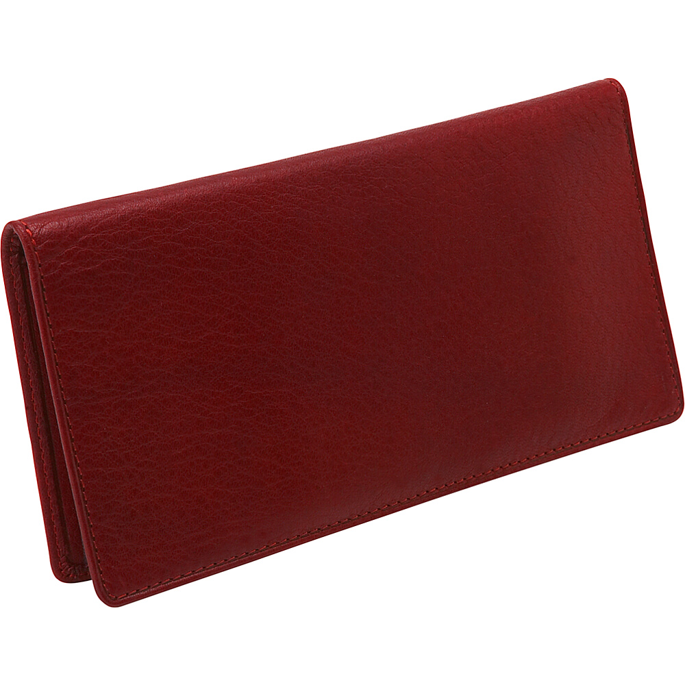 Osgoode Marley Cashmere Checkbook Cover - Red - Women's SLG, Women's Wallets