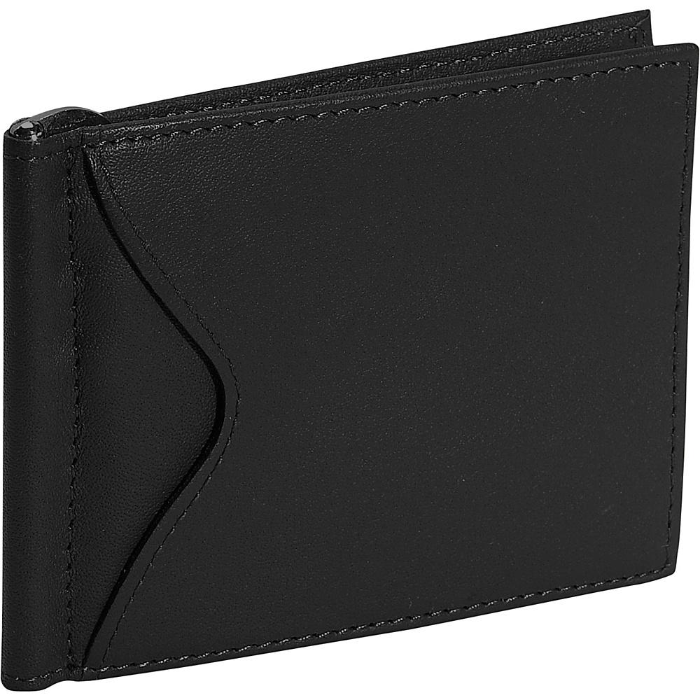 Royce Leather Mens Cash Clip Wallet - Black - Work Bags & Briefcases, Men's Wallets