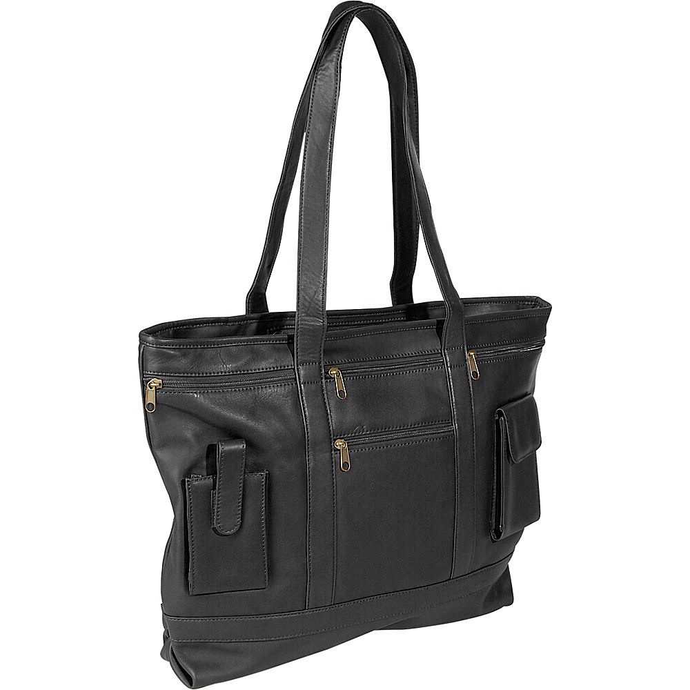 Royce Leather Business Tote - Top Grain Milano Cowhide - Work Bags & Briefcases, Women's Business Bags