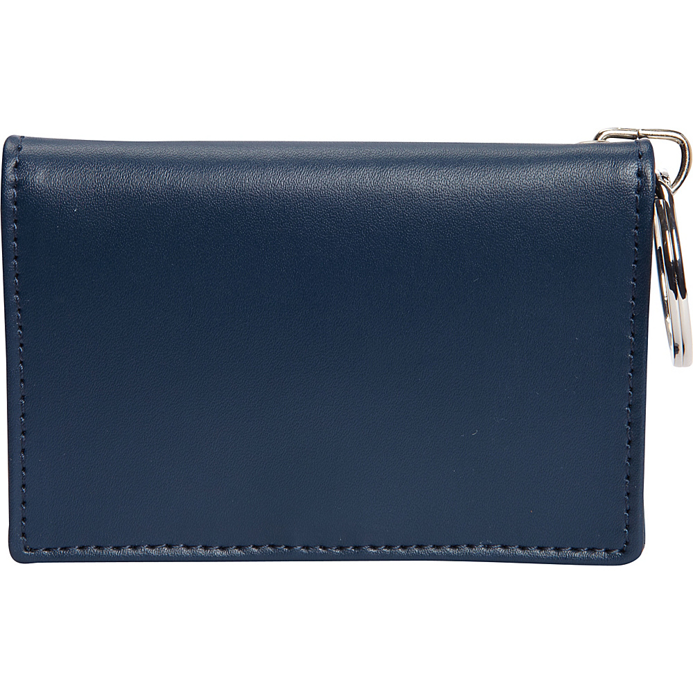 Clava ID/Keychain Wallet - Colors - CI Navy - Women's SLG, Women's Wallets