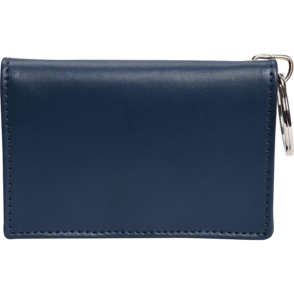 Clava ID/Keychain Wallet - Colors - CI Navy - Women's SLG, Women's Wallets