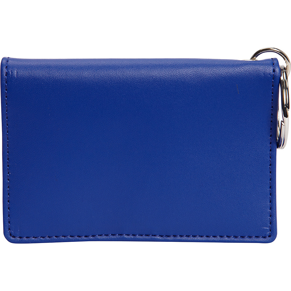 Clava ID/Keychain Wallet - Colors - Blue - Women's SLG, Women's Wallets