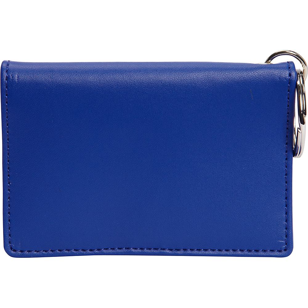 Clava ID/Keychain Wallet - Colors - Blue - Women's SLG, Women's Wallets
