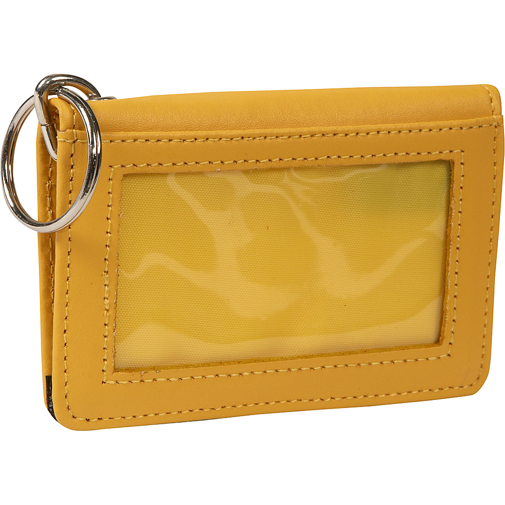 Clava ID/Keychain Wallet - Colors - CI Yellow - Women's SLG, Women's Wallets